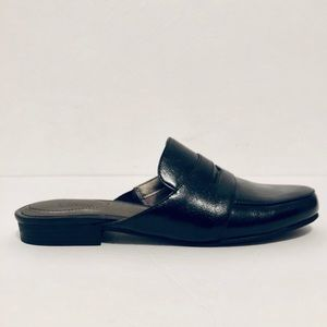 Life Stride Soft System Slip-On Black Mules